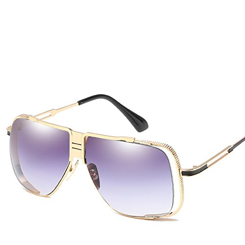Gafas De Gafas Grayed Retro Los Box Sol Is Sol De Hombres De Sol Gafas Elegantes De Box Par WHLDK The Out Big pP6vq6