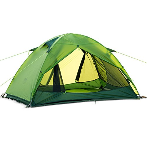 Lelantus Naturehike Double Layer Zelt Outdoor Wandern Camping Zelt Doppelwasserdicht winddicht Anti UV 20D Silikon