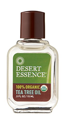 Desert Essence Organic Tea Tree Oil, 0.5 Ounce ()