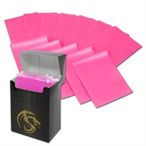 (36) Pink BCW Deck Guard Packs - Trading Card Sleeves - 80 Sleeves per Pack - BCW-DGM80-PNK