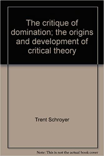 Critique of domination think, that