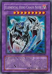 Yu-Gi-Oh! - Elemental Hero Chaos Neos (GLAS-EN036) - Gladiators Assault - 1st Edition - Secret - Gi Elemental Chaos Oh Hero Neos Yu
