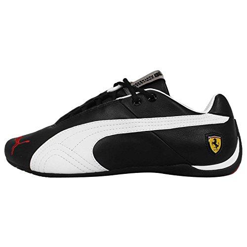 Puma - Future Cat Leather - Color: Black-Red-White - Size: 11.0