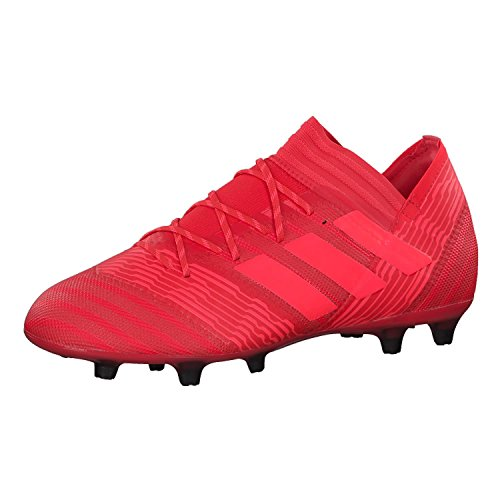 adidas Nemeziz 17.2 Fg, Scarpe da Calcio Uomo Rosso (Reacor/Redzes/Cblack)
