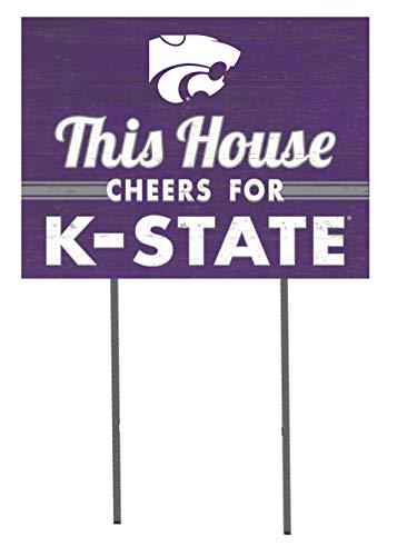 - KH Sports Fan 18x24 Lawn Sign Kansas State Wildcats