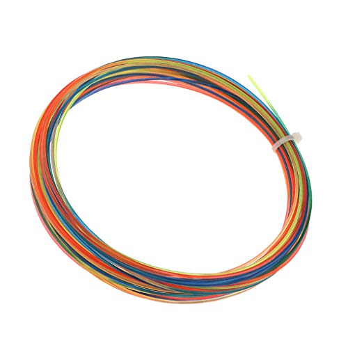 CUTICATE 12m High Tension Tennis Racquet Strings Repair Replacement – Rainbow Colorful
