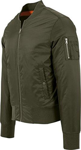 Giacca Grün Classics Uomo Basic 551 darkolive Jacket Urban Bomber 46FPFqS