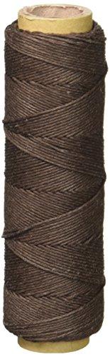 (Hemptique PA-1650-72 Hemp Cord Spool, 10 lb, Dark Brown)
