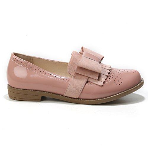 Rosa con Cordones de Zapatos Mujer HERIXO Sintético wWS146qxHa