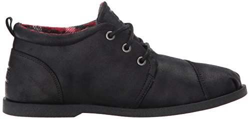 Black Women's US Black BOBS 9 Drifting Skechers Black Chill Luxe from black M Flat 5 40qxwUR