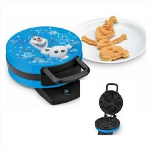 Character Snowman - Disney Frozen Olaf Waffle Maker - Makes Olaf the Snowman Waffles