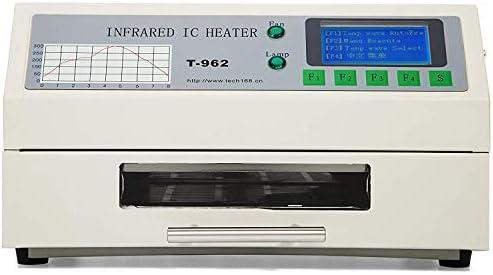 DCHOUSE T962 Infrarotlot BGA IC Heizung Reflow Ofen Fenster Schublade 180 /× 235MM 800Watt