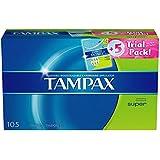 Tampax Tampons, Super (100 ct.) Plus 5 ct. Tampax Pearl Trial Pack