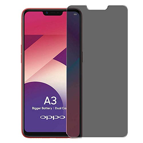 Oppo A3/F7 Privacy Screen Protector – Hangrun Smooth Touch Anti-Spy Anti-Peeping 9h Hardness HD Tempered Glass Film for Oppo A3/F7