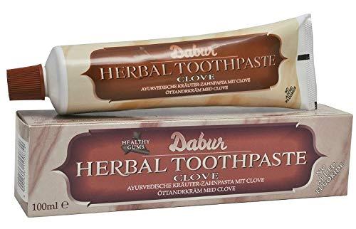 Dabur Herbal Toothpaste Clove (5.43 oz / 154 g)