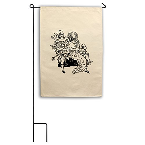 Color-In Queen Fairy Coronation Canvas Yard House Garden Fla