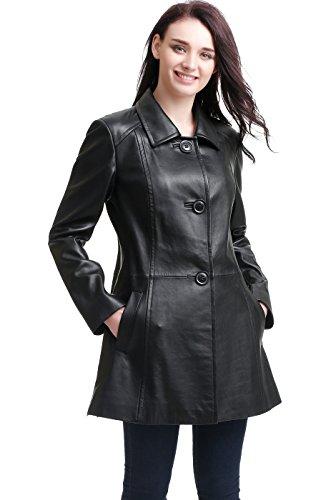 Lambskin Leather Walking Coat - 7
