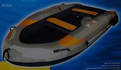 Amazon Com Aquarius 860 Hard Bottom Inflatable Boat Sports