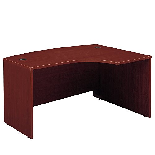 Bush Business Furniture Series C Collection 60W x 43D Right Hand L-Bow Desk Shell in Mahogany -