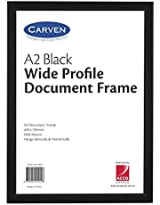 Carven Document Frame Plastic Black