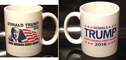 (Donald Trump 2016 Coffee Mug Make America Great Again (2 Sided Design))