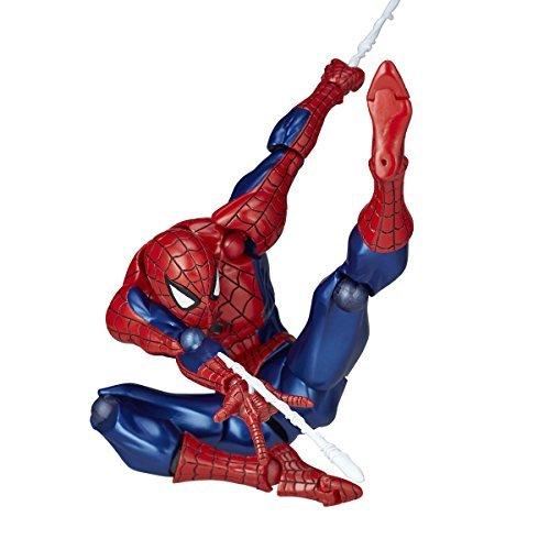 figure complex AMAZING YAMAGUCHI Spider-man Spider-Man about 160mm ABS & PVC painted action figure Revoltech - Pvc Figure Revoltech Joints