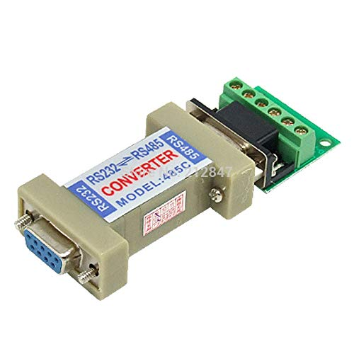 Gimax RS232 to RS485 Communication Data Converter Adapter with a Terminal ()