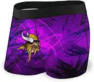Fashion Minnesota Vikings Men's Underwear Boxer Briefs No Ride-up Sport Under-