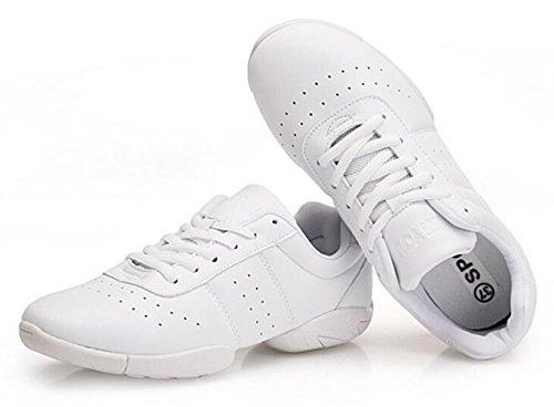 1d639fa4aee7 DADAWEN Women s Sport Training Cheerleading Shoes
