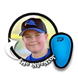 Comfy Cup Neon Blue (Ages 7-11)   The Original Boys Youth-Sized Soft Foam Beginners Kids Protective Cup for Baseball, Football, Hockey, Lacrosse, MMA, Rugby, Soccer, Karate