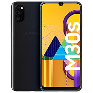 Samsung Galaxy M30s Black Smartphone – SIM Free Mobile Phone [Amazon Exclusive]