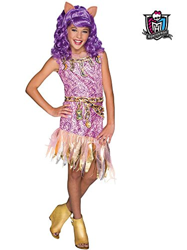 Rubie's Costume Monster High Haunted Clawdeen Wolf Child Costume, Large -
