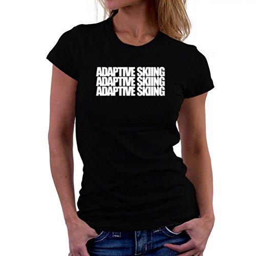 Adaptive Skiing three words T-Shirt