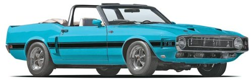 Revell 69 Shelby GT500 Convertible Plastic Model Kit ()