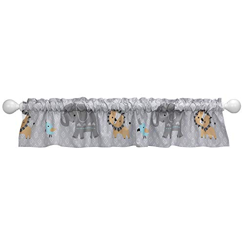 - Bedtime Originals Jungle Fun Window Valance