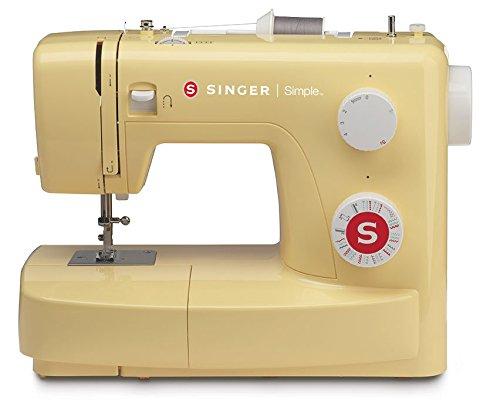 SINGER | Simple 3223Y Handy Sewing Machine, Honey