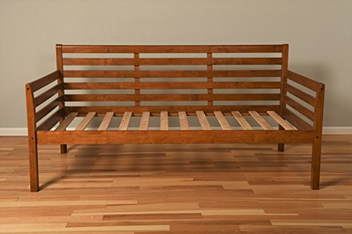 Kodiak Furniture Boho Daybed with Barbados Finish, Twin (Hardwood Daybed)