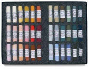 Jack Richeson Unison Pastel Portriat Colors, Set of 36 by Jack Richeson