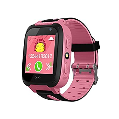 TDH Kids GPS Smartwatch, Anti-lost Smart Watch for Children Girls Boys Compatible for iPhone Android