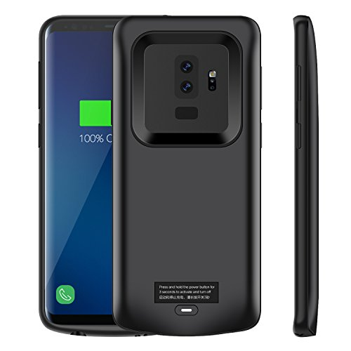 Galaxy S9 Plus Battery Case, Modernway 5200mAh Slim Portable Extend Battery Pack Charger Case, Rechargeable Charging Case for Samsung Galaxy S9 Plus(Black) by Modernway