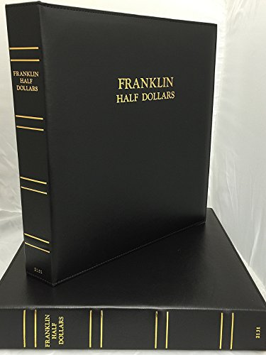 Franklin Half Dollars w/Proofs 2131 CAPS Album New
