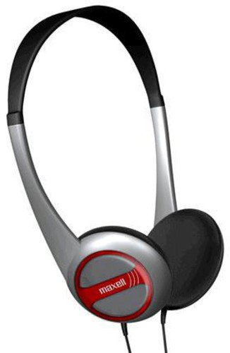 Maxell 190318 Lightweight Adjustable Open Air Portable Stereo Headphones with Dynamic Sound Reporoduction, 32 Ohms