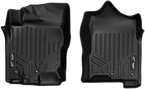 MAXLINER Floor Mats 1st Row Liner Set Black for 2017-2021 Nissan Titan / 2016-2021 Titan XD