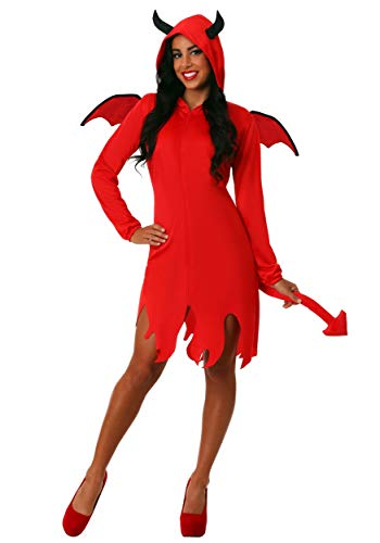 Cute Devil Costumes For Halloween (Adult Cute Devil Costume for Women Large)