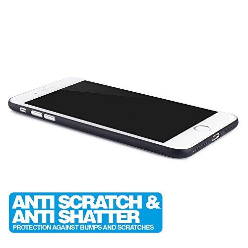 iPhone 7 Plus Hülle Ultra Thin Case Schutzhülle 5,5'' Zoll in aufregenden Farben solid black - Idealer Schutz für Diamantschwarz Jet Black iPhone7 Plus