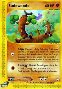 Pokemon - Sudowoodo (36) - Aquapolis