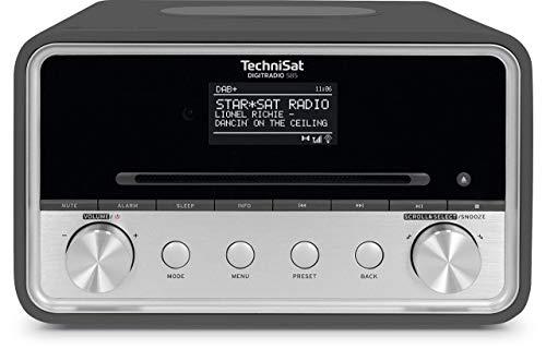 TechniSat Digitradio 585 – DAB+ hybride (FM, internetradio, Bluetooth, Spotify, draadloos opladen, Alexa spraakbediening…