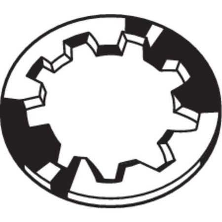 5/16'' x 0.594'' OD Phosphorus Bronze Finish Internal Tooth Type A Lock Washers, 100 pk.