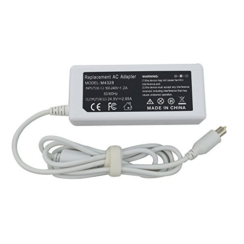 - SLE-TECH 65W Replacement Ac Laptop Adapter Charger for Apple Powerbook G4,iBook,iBook G4,white