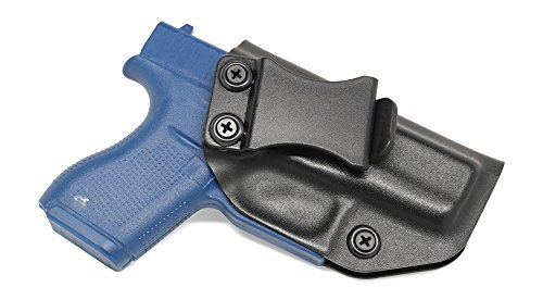 Concealment Express IWB KYDEX Holster: fits Glock 42 - Custom Fit - US Made - Inside Waistband - Adj. Cant/Retention (BLK, Right) (Best Concealed Carry Guns For Beginners)